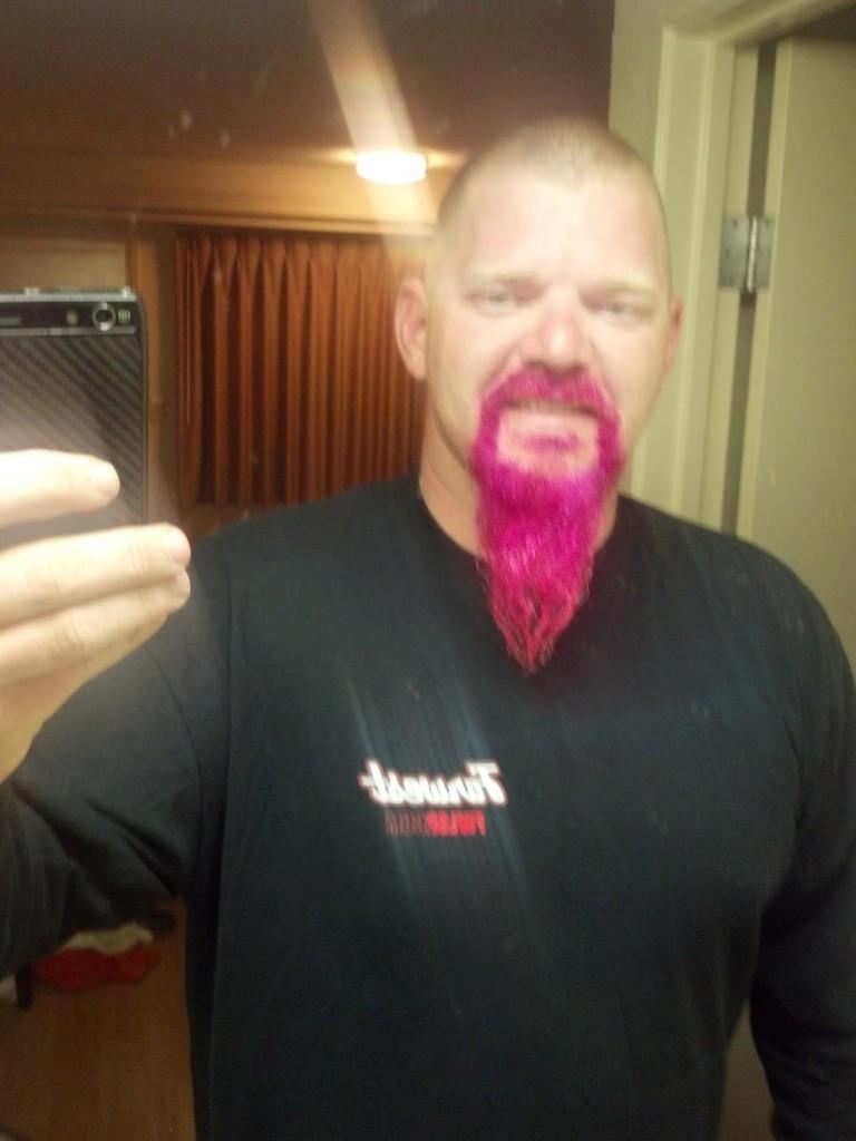 Rockin' the Pink