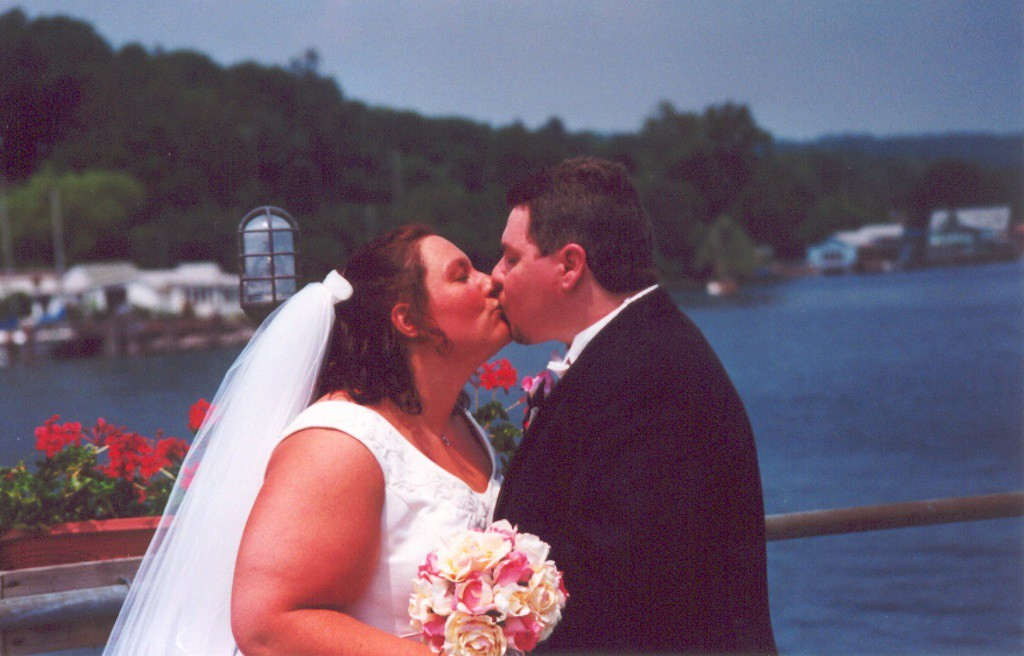 Watkins Glen Pier (Wedding Day)