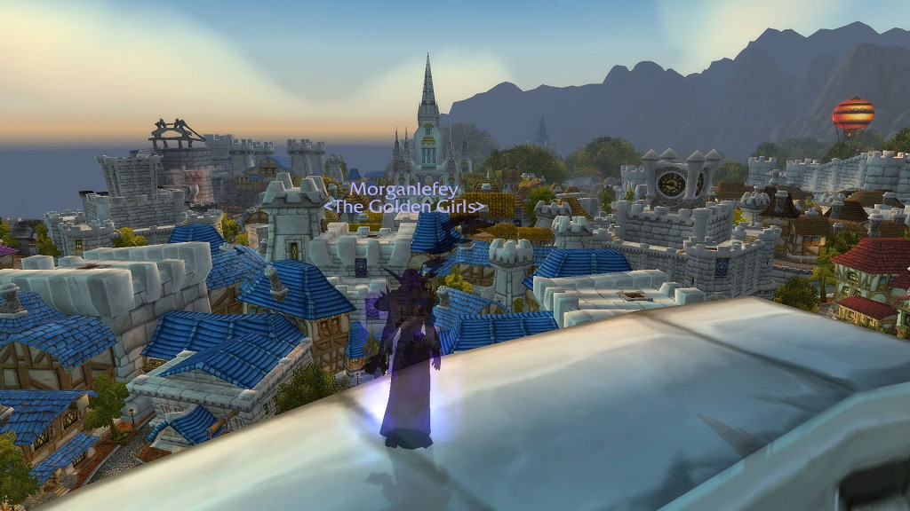 Morganlefey, Wendy's main character in World of Warcraft