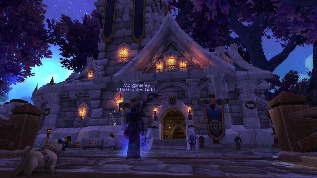Wendy's Level 3 Garrison (Castle) from Warlords of Draenor