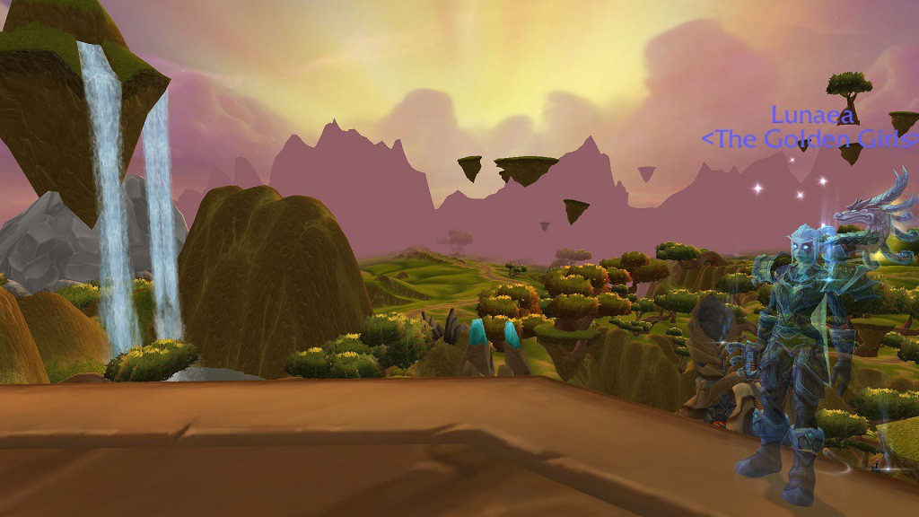 Lunaea in Nagrand from The Burning Crusade