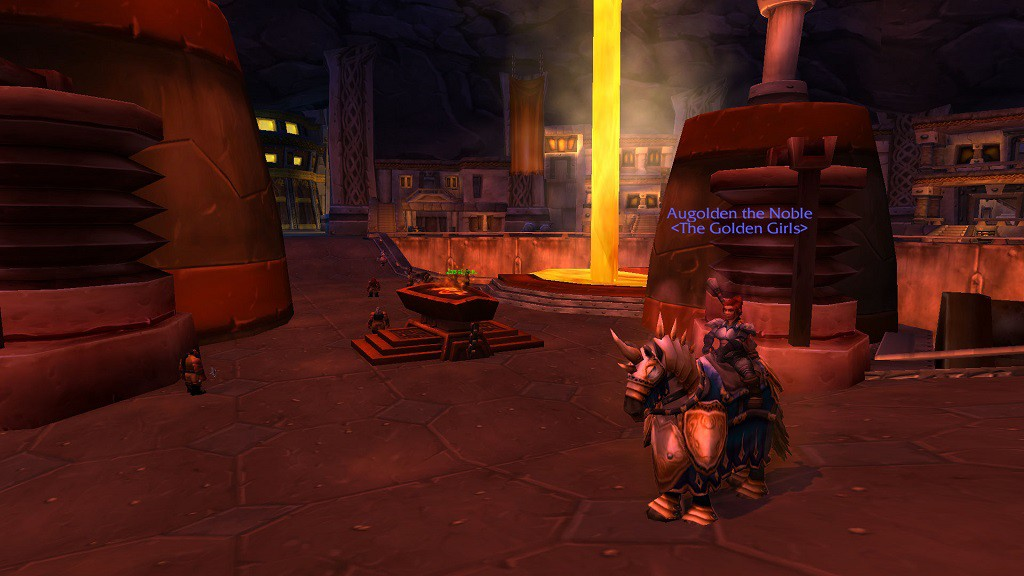 Augolden in The Great Forge, Ironforge
