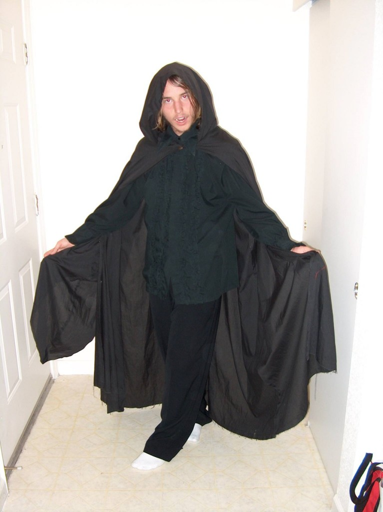 Josh's Dracula Costume